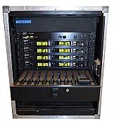 Shure PSM1000 in-ear rack
